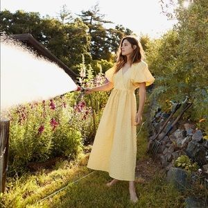 Christy Dawn 'dahlia' dress in Canary